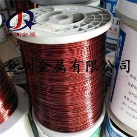 变压器扁铜线 电机漆包扁铜线 QZY180级聚酯亚胺漆包铜线