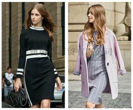 女装品牌折扣秋水伊人外贸女装货源就到广州明浩折扣女装