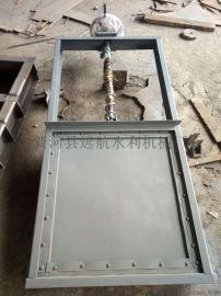 不锈钢闸门 304材质 1米 污水处理