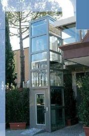 导轨无障碍设备烟台市升降平台启运残疾人电梯家装电梯