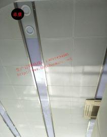教室吊顶吸音600X600铝扣板/装饰墙面微孔吸音板