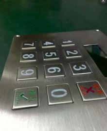 厂家直销--融达通金属密码键盘