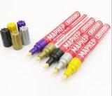 OEM定制阀门式彩色塑料油漆笔 补漆记号笔 环保油性轮胎标记笔