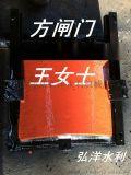 附壁式1米*1.5米铸铁闸门安装
