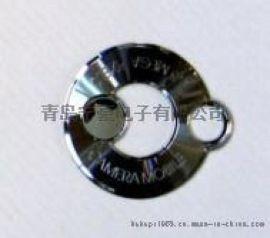 定制订做金属电铸镍标logo标牌铭版铭牌