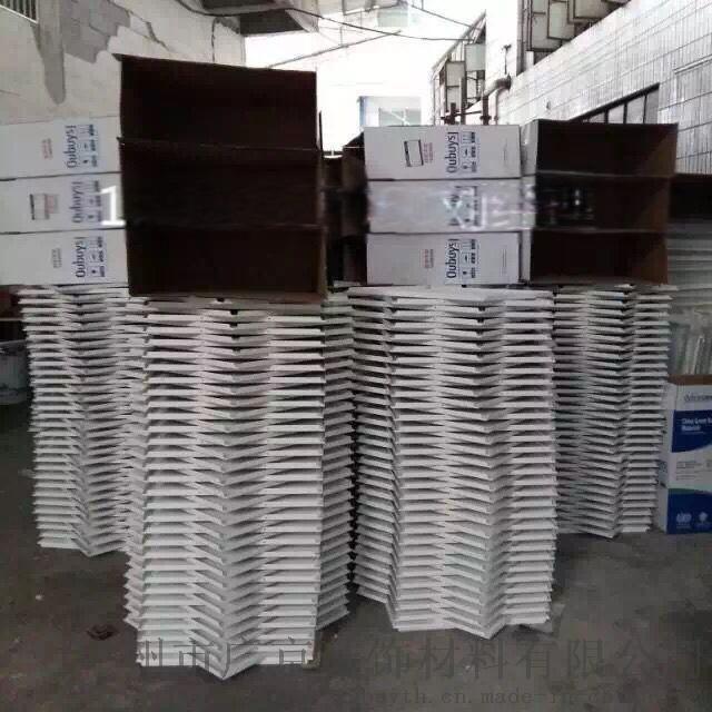 羣樓辦公大樓鋁扣板-邊體樓白色吊頂鋁扣板
