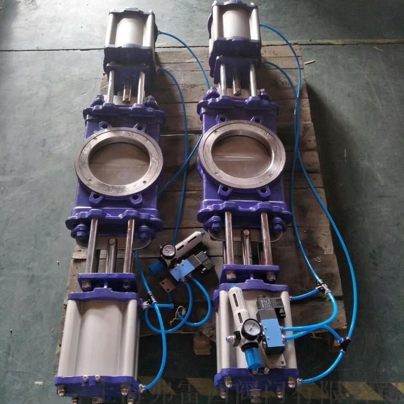 气动插板阀生产厂家  小口进大口出不积料