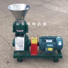 牛羊养殖饲料颗粒机,养殖合作社颗粒饲料加工机械