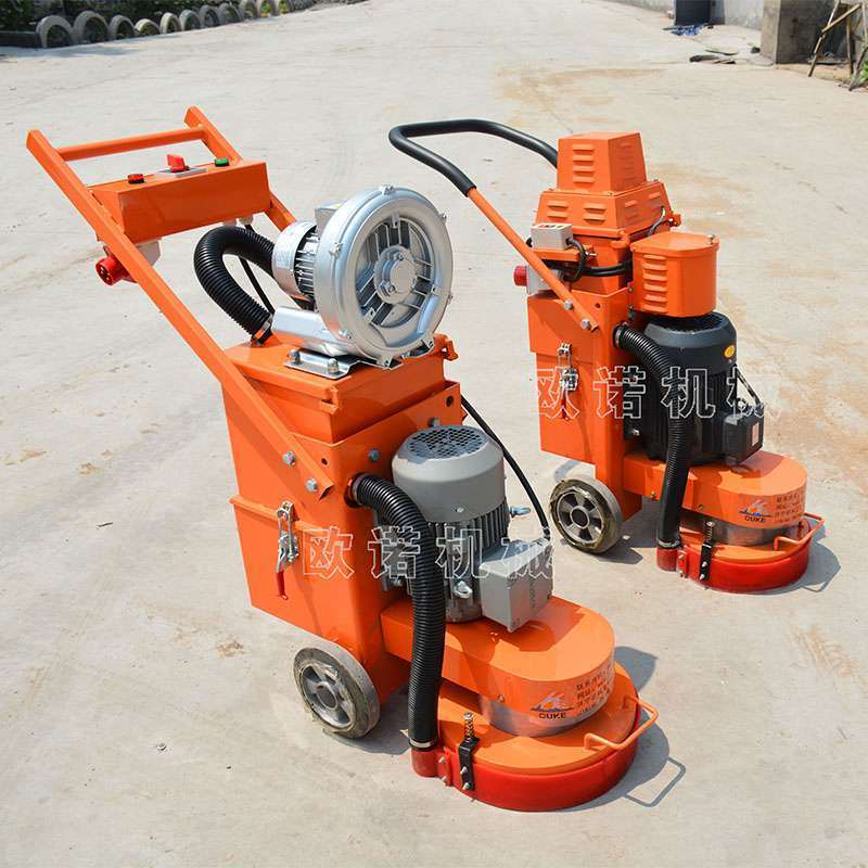 环氧地面研磨机 固化地坪打磨机 高速吸尘水泥打磨机