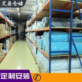 宁波三立柱货架厂家直销 面料布匹货架 仓库仓储货架