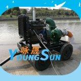 12寸农田灌溉柴油机水泵机组 10寸柴油抽水机