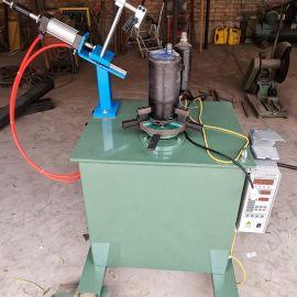 双**环缝焊接机 灭火器筒自动化焊接机