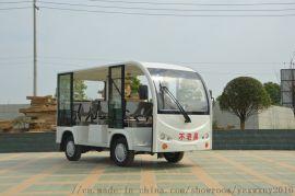 8座電動觀光車 全封閉旅遊景區接待車 四輪電瓶車