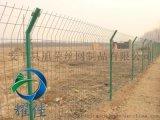 高速公路双边丝护栏网隔离圈网围栏绿色护栏网-耀佳