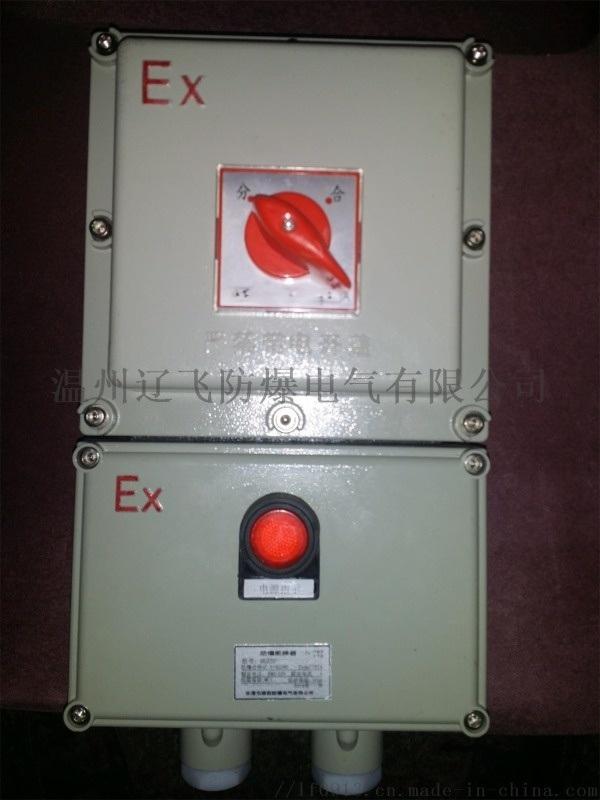 不鏽鋼防爆空氣開關箱BLK防爆斷路器帶漏電保護