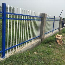 变压器锌钢围栏 农场围墙护栏 别墅花园焊接式栅栏