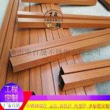 304不锈钢木纹管45*45*1.0 工程定制