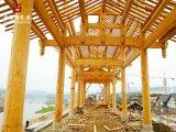 重慶廊架廠,公園防腐木廊架、走廊定製