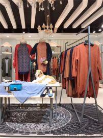 廣州三薈18年新款英唯毛衣品牌折扣女裝貨源