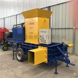 玉米秸秆套袋机 大型压块机
