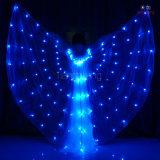 全彩LED蝴蝶翅膀,彩虹色LED发光翅膀