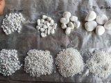 河北永顺供应全型号纯白机制鹅卵石