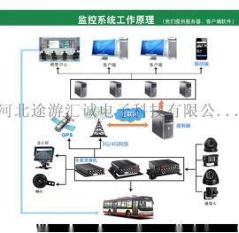 车载监控一体机 车 4G车载监控 车载远程监控