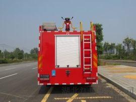 东风双排水罐消防车一吨