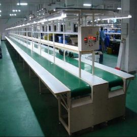 皮带流水线 电子产品包装生产线 温控器装配输送线