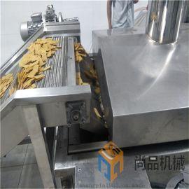 全自动锅巴油炸机 专业定制大米锅巴油炸机生产线