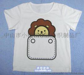 廠家直供訂制廣告純棉圓領短袖印花童裝T恤文化衫
