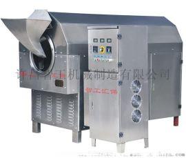 亚麻籽炒货机多少钱一台 许昌智工电磁炒货机