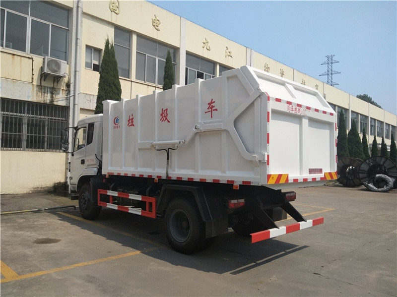 东风专底(12方)对接式垃圾车