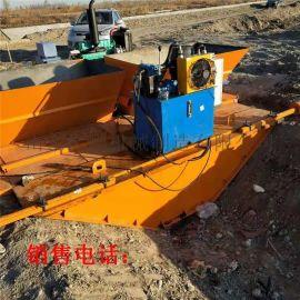 混凝土水渠成型机 渠道滑膜机 农田改造渠道成型机