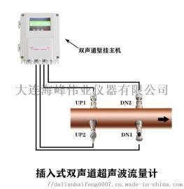 大连  TDS-100双声道插入式超声波流量计