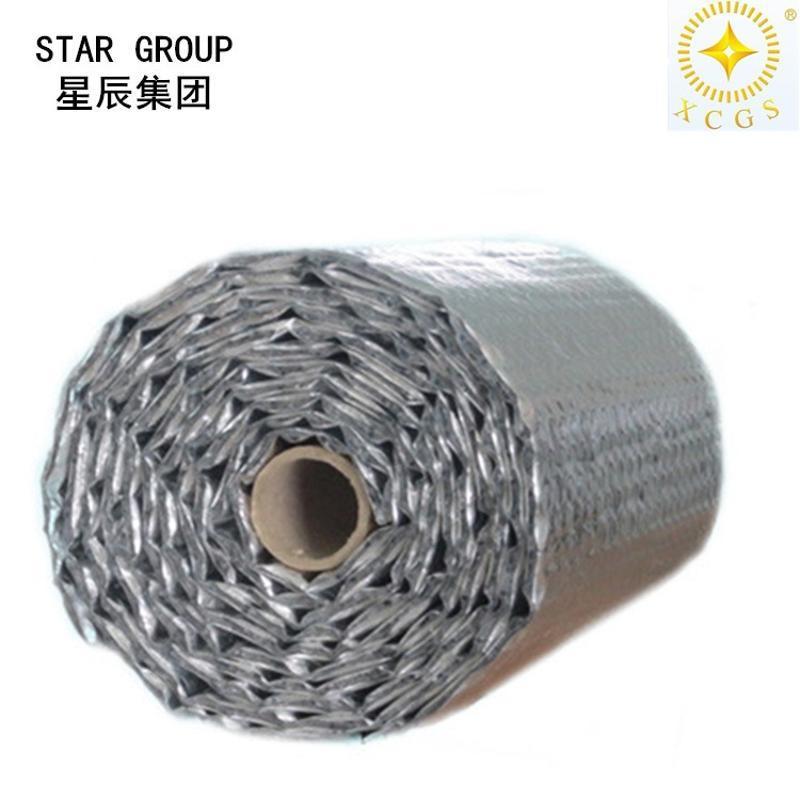 厂家直供南京双铝双泡纳米气囊反射层 屋顶建筑隔热保温材料