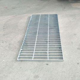 热镀锌钢格板高铁桥墩格栅板楼梯踏步板排水沟盖板井盖镀锌钢格栅