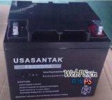 山特6-GFM-38 12V38AH 太阳能UPS/EPS电源直流屏 免维护蓄电池