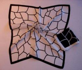 全真丝围巾,方巾(HQ0487)
