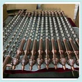大门把手加工定制厂家 玻璃门不锈钢拉手批发工厂 水晶大拉手不锈