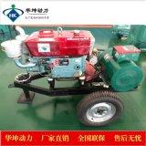 潍坊12kw发电机组 单缸1110柴油机电启动皮带轮链接12千瓦纯铜