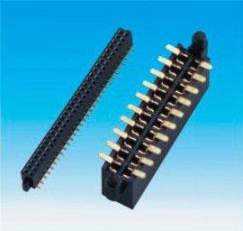 1.27间距双排母双排母座 插座 2*2P/3/4/5/6-40P 90度180度 SMT