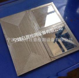 平板硫化机试片模具/塑料硫化专用三块板模具/硫化机配套试片模具