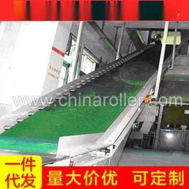 专业经销 爬坡皮带输送机 长条式物料皮带输送机 全新皮带流水线