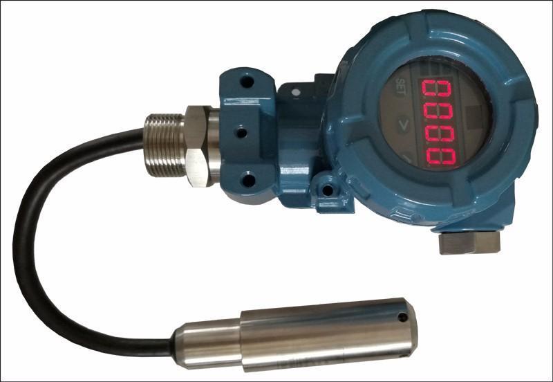 普量PT500-580 液位开关 电子水位开关 开关量液位传感器 带显示水位开关
