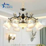 中国风水晶吊灯 客厅吊灯 时尚餐厅吊灯