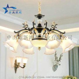 中國風水晶吊燈 客廳吊燈 時尚餐廳吊燈