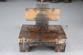 老渔夫船木家具船木沙发,古船木为原料,榫卯结构,纯手工制作