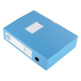 易事利   -348塑料档案盒)办公文具收纳盒PVC文件盒75C 批发