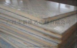 供应聚氨酯防火保温一体铝单板吊顶材料